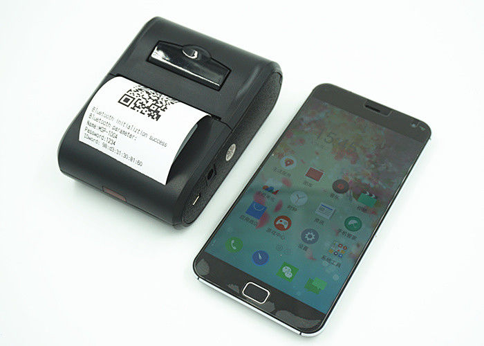 QR Zebra Barcode Label Printers with Mechanism MS-215 , Mini thermal label printer